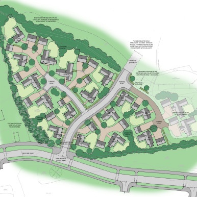 Corby R23 Site layout