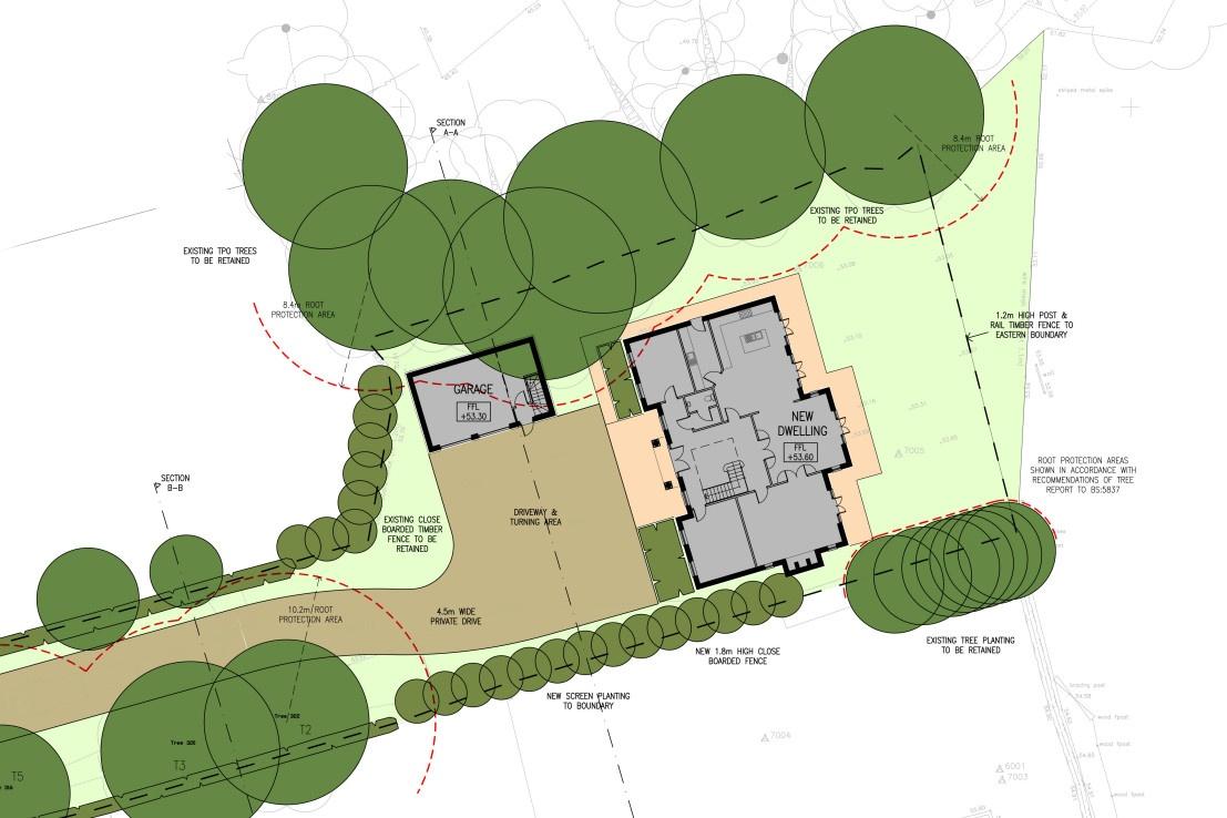 Felden site plan