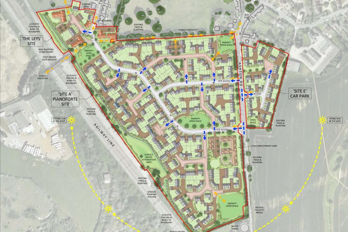 Roade site plan