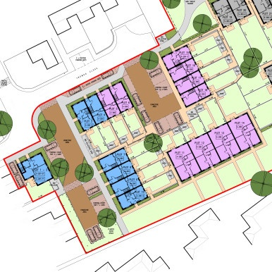 Finland Way affordable housing layout